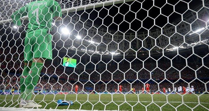 Yann Sommer lors du match entre la Suisse et le Costa Rica