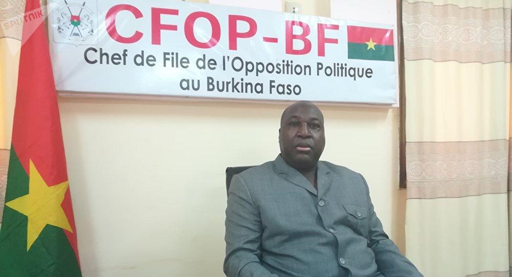 Zéphirin Diabré, le chef de file de l'opposition burkinabè (CFOP).
