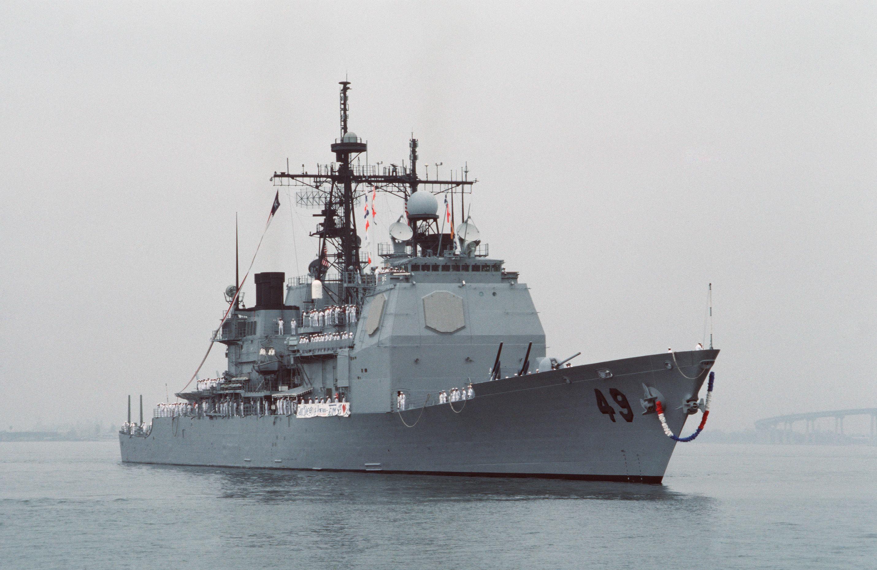 USS VINCENNES (CG 49)