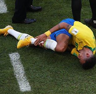 Football Coupe du monde 2018 Match Brésil - Mexique