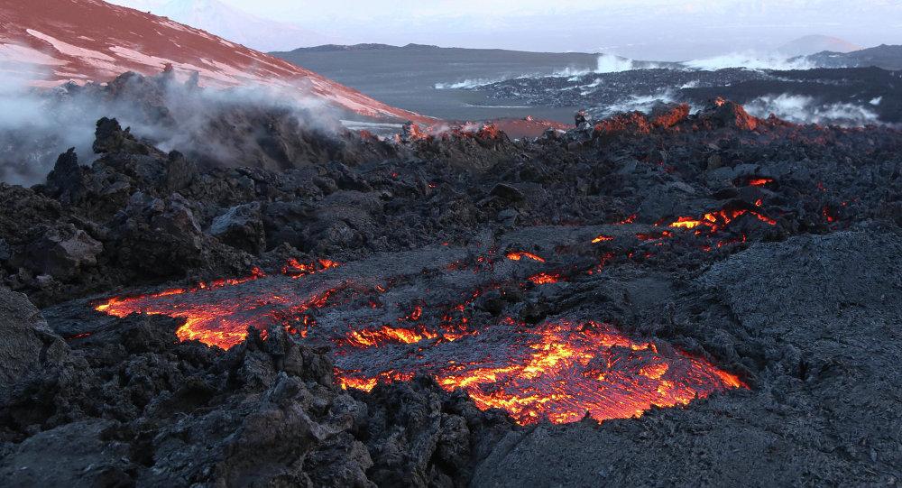 Un volcan