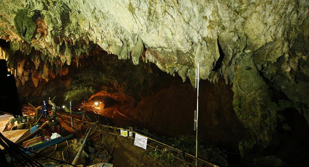 Grotte en Thaïlande