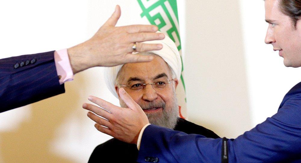 Hassan Rouhani et Sebastian Kurz