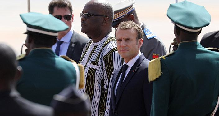 Macron,Ouagadougou