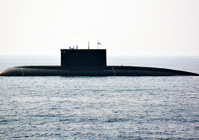 Un sous-marin indien
