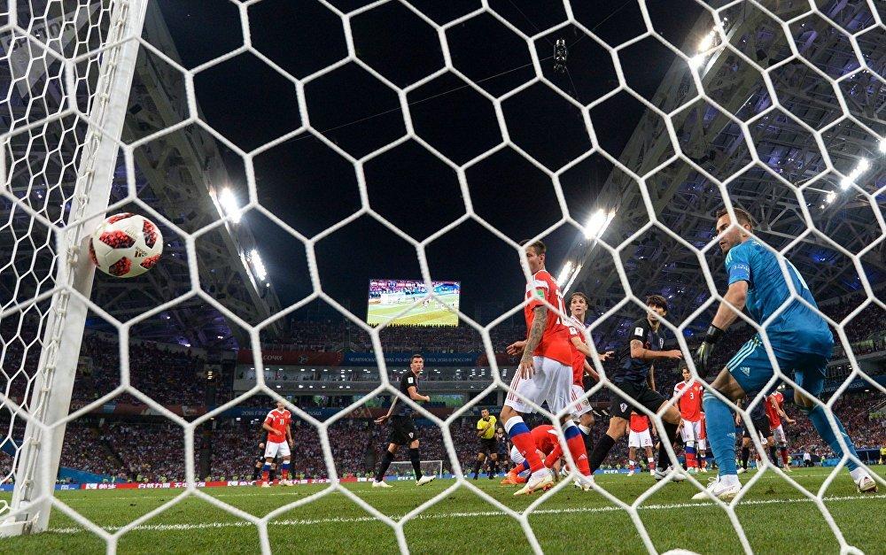 Un but marqué par la Croatie à la Russie en quarts