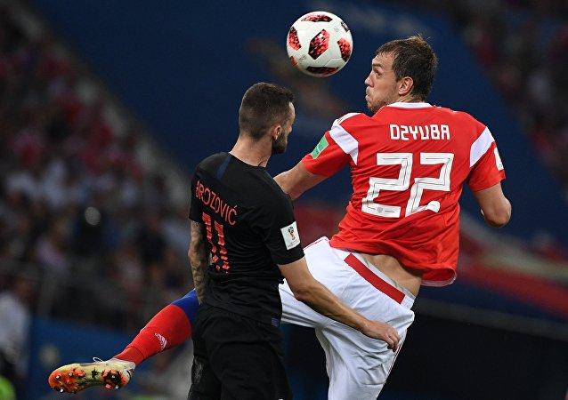 match Russie-Croatie