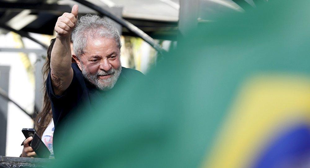 L'ex-Président brésilien Luiz Inacio Lula da Silva (photo d'archives)