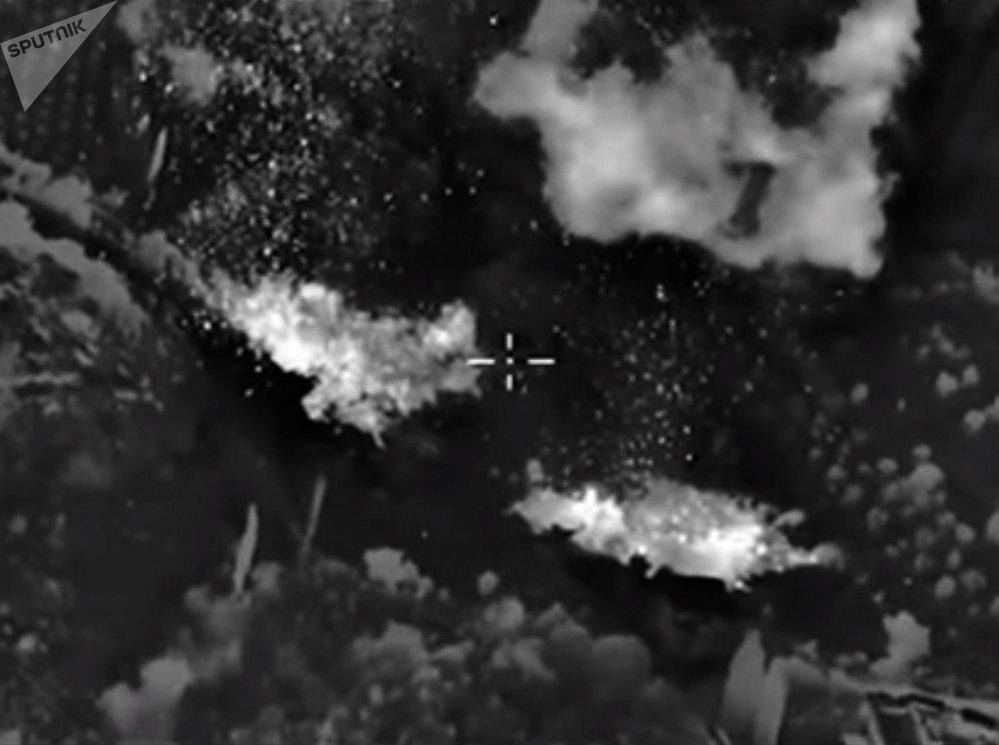 Les frappes aériennes russe en Syrie