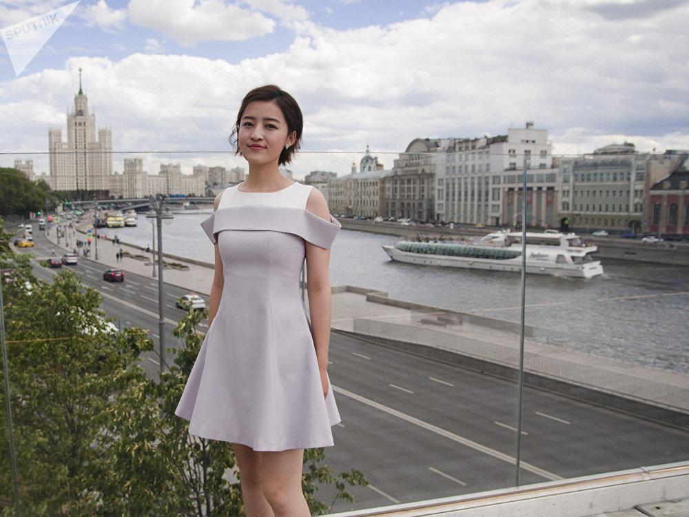 Yang Mingming à Moscou