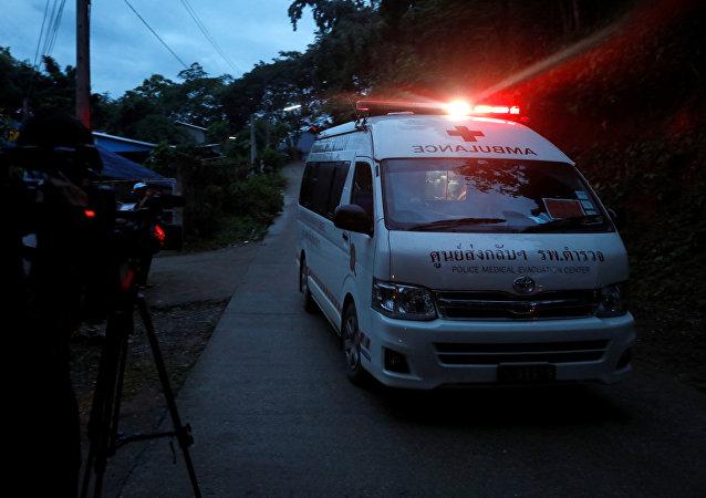 Ambulance en Thaïlande