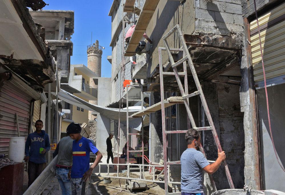 Mossoul: un an après la libération