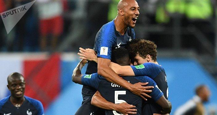 La France remporte la demie-finale face à la Belgique
