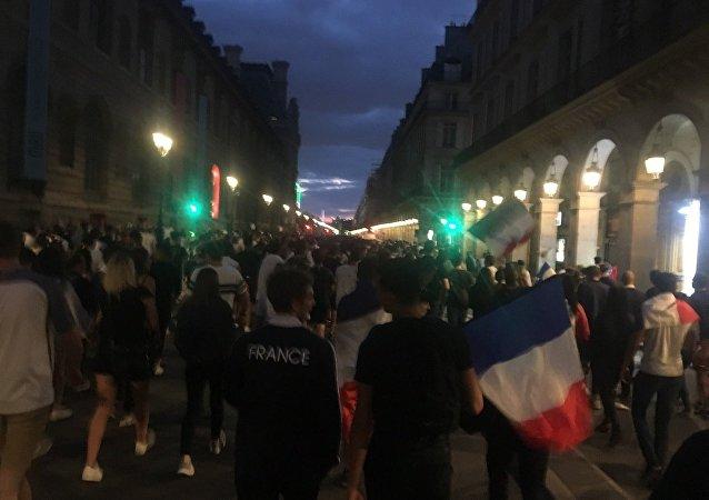 Paris en liesse