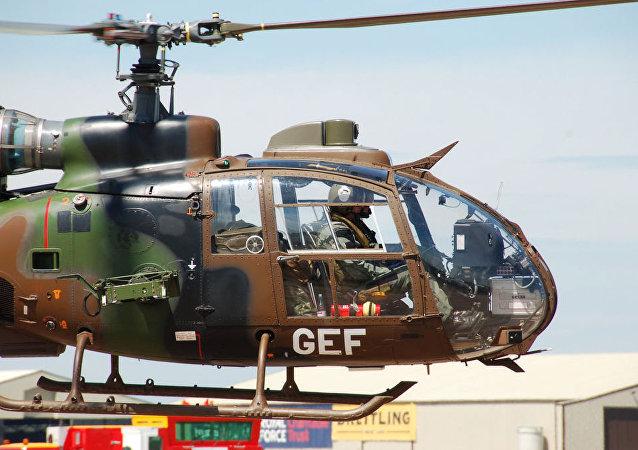 Une Gazelle SA 342L1 française, image d'illustration