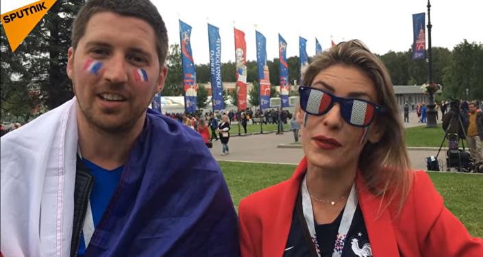 Que pensent des supporters français de la présence de Macron au match France-Belgique?