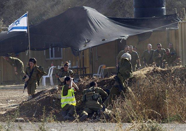 Militaires Israéliens de Tsahal. Photo d'archive