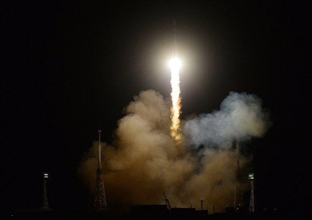 Запуск РН «Союз-2.1А» С ТГК «Прогресс МС-09» с космодрома Байконур