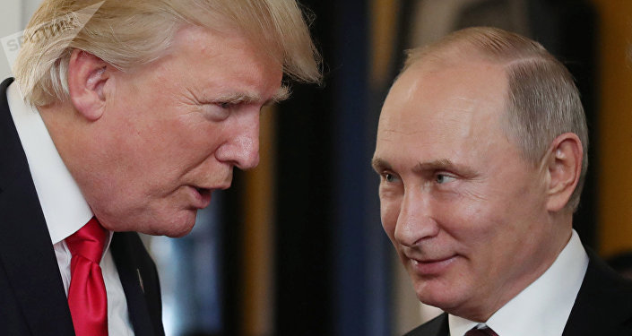 Vladimir Poutine et Donald Trump. Photo d'archive
