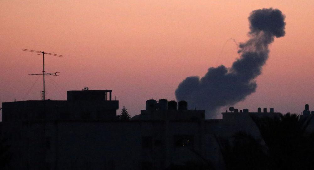 Israël lance des frappes aériennes massives contre Gaza (image d'illustration)