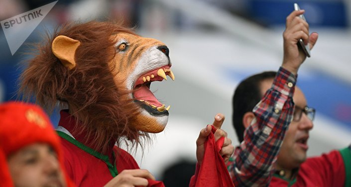 Les supporters du Maroc