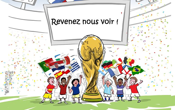 Fin de la Coupe du Monde