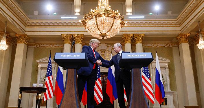 Trump et Poutine