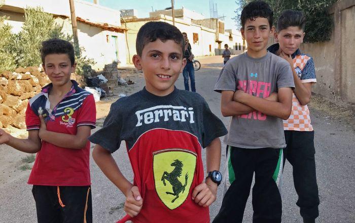 Les habitants du village syrien d'Alma sont rentrés chez eux