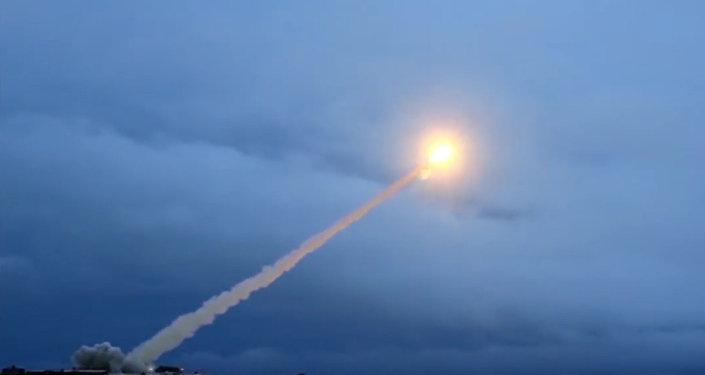 Essai d'un missile