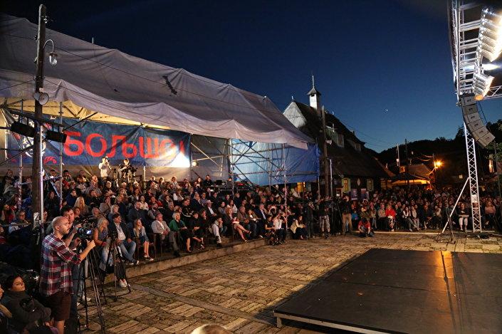 La 6e édition du Festival de musique russe Bolchoï qui a été organisée par Emir Kusturica et s'est déroulée en Serbie du 14 au 17 juillet