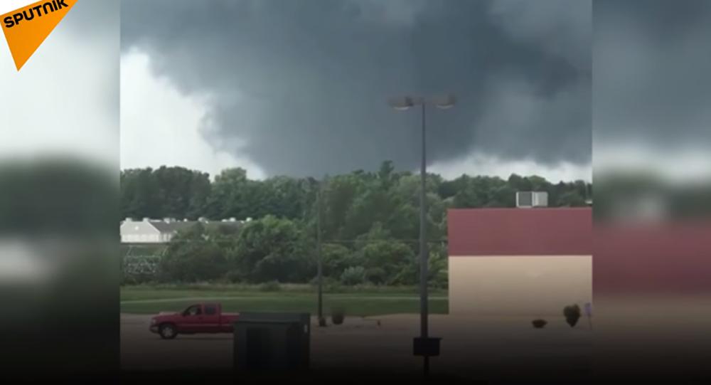 Une série de tornades destructrices s'abattent sur l'Iowa, 19 juillet 2018