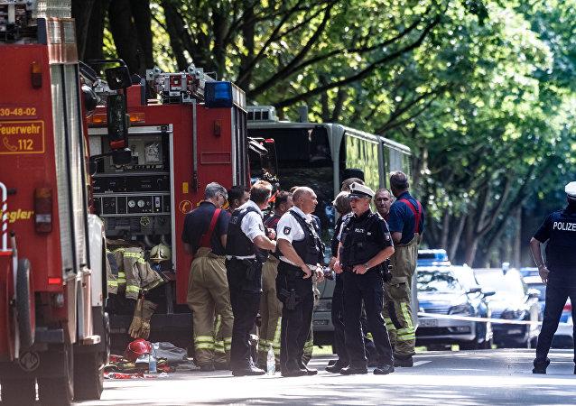 Une attaque au couteau dans une ville allemande, au moins 14 blessés