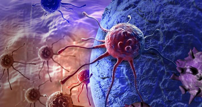 Des cellules cancéreuses.