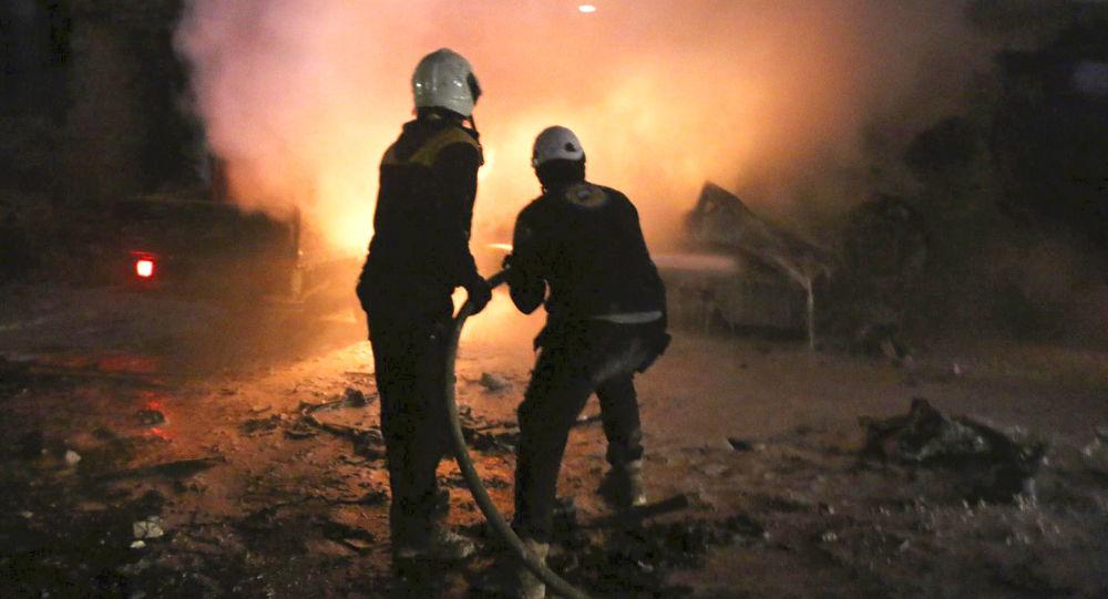 Les Casques blancs syriens (archive photo)