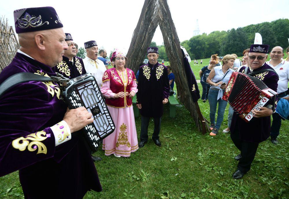 Le festival Sabantouï à Kolomenskoïe