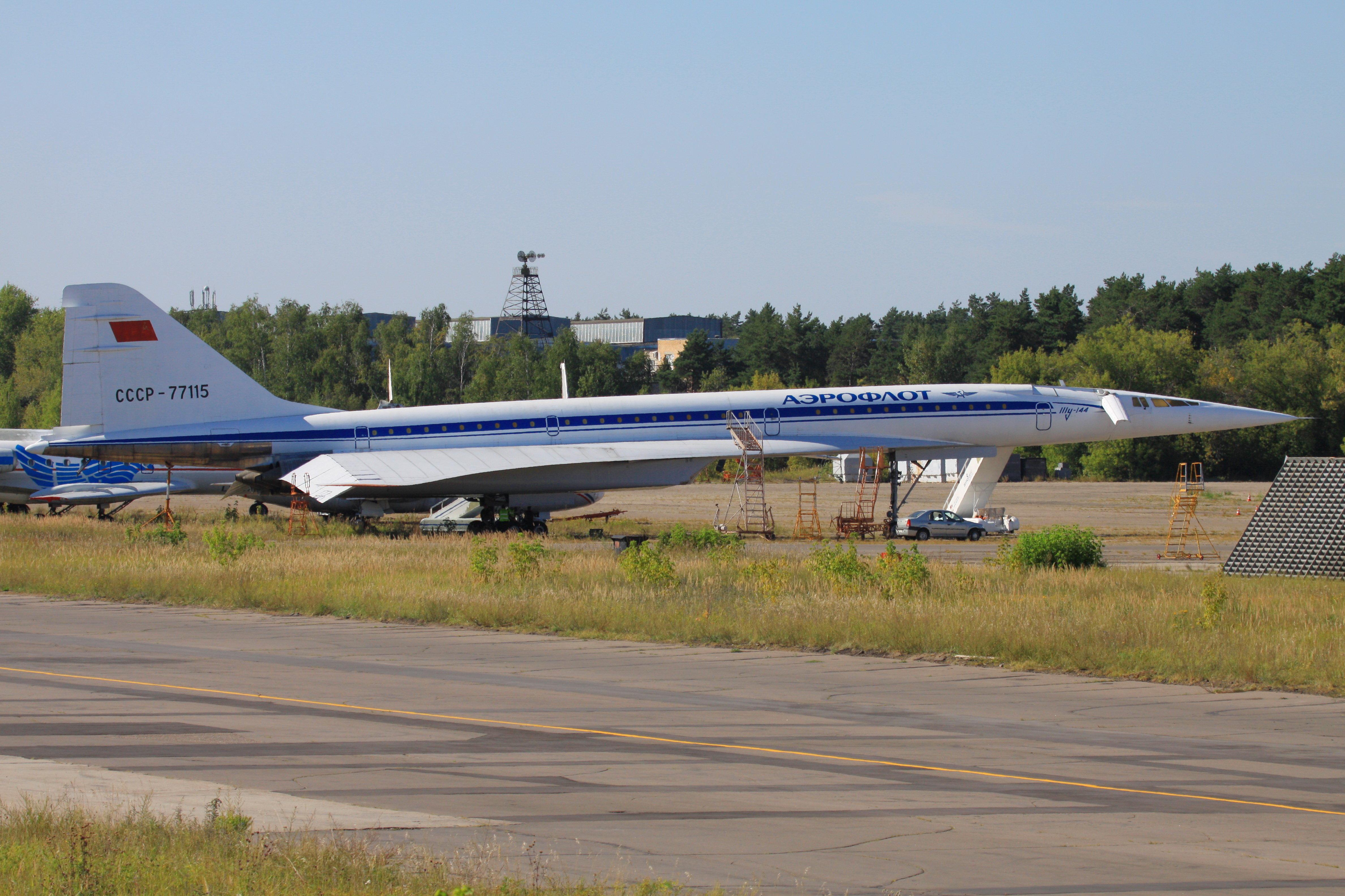Les visiteurs du musée  pourront voir comment était le Tu-144 quand il volait