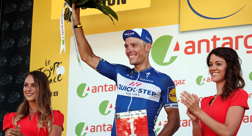 Philippe Gilbert revient sur sa chute