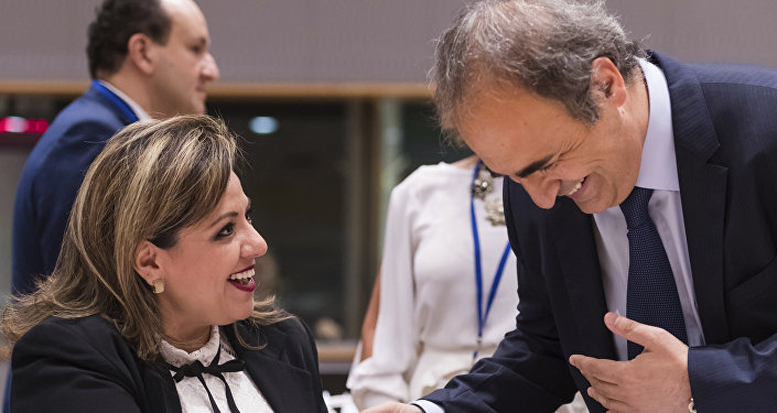 Ricardo Merlo, vice-ministre italien des Affaires étrangères