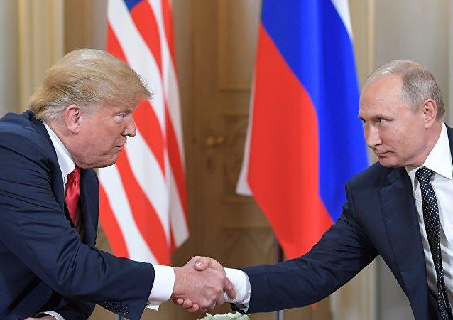 Poutine et Trump au sommet d'Helsinki
