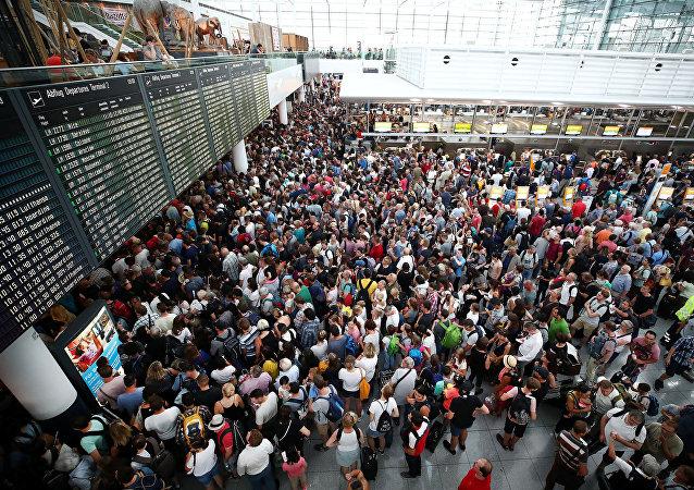 Une pagaille d'envergure à l'aéroport de Munich