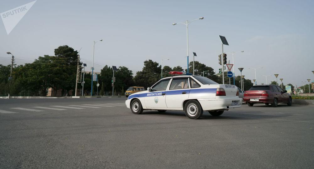 Voiture policière tadjike