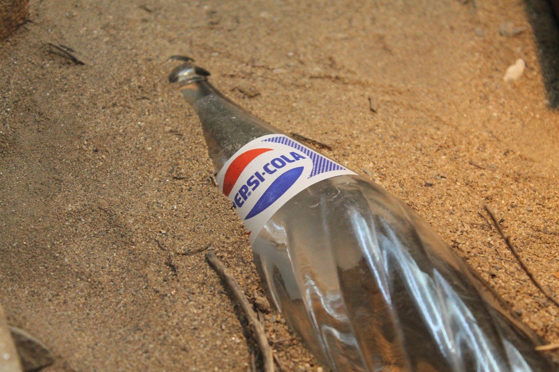 Une bouteille de Pepsi