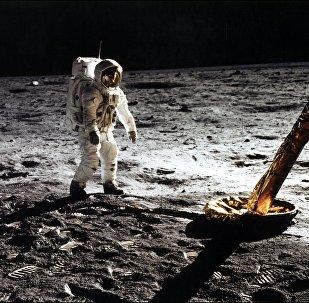 L'astronaute Edwin Buzz Aldrin sur la Lune en 1969 (archive photo)