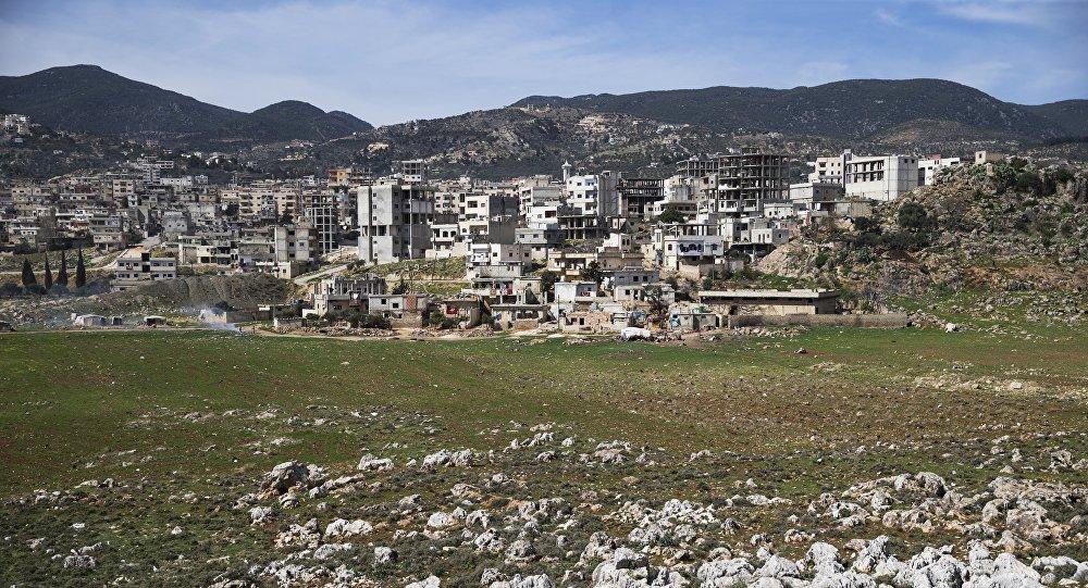 la ville syrienne de Masyaf