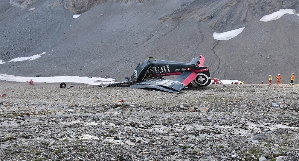 Crash d'un Junkers de collection en Suisse