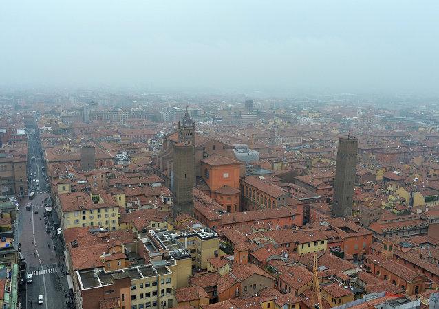 Bologne, en Italie