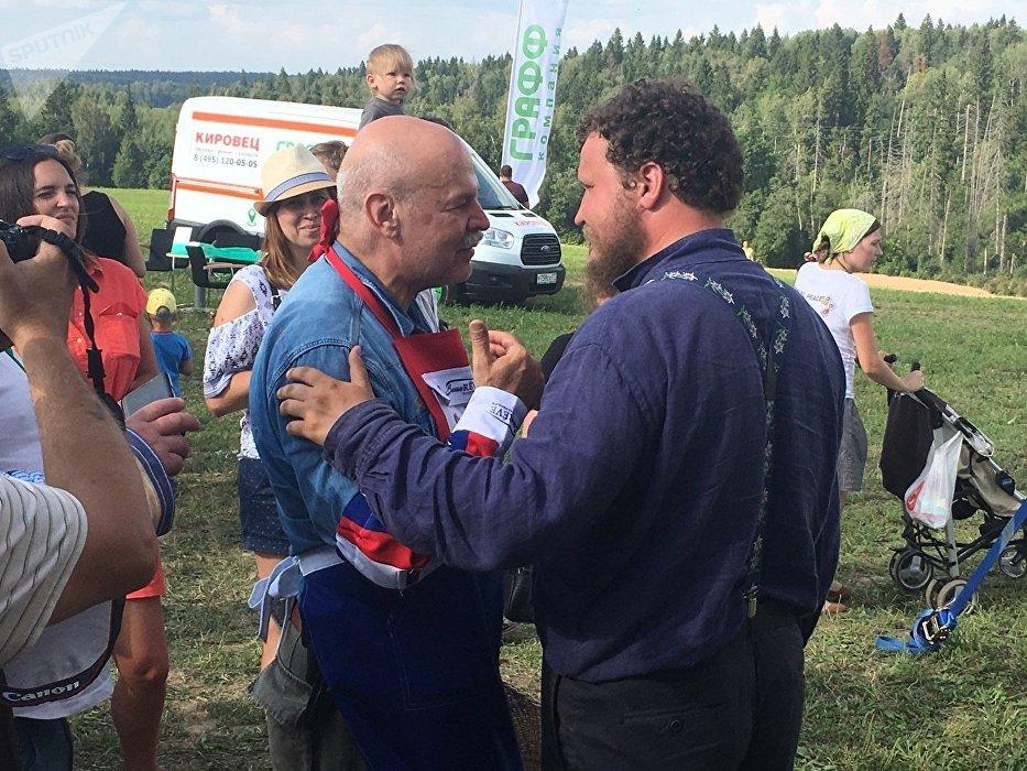Les nouveaux fermiers russes Oleg Sirota et Vladimir Borev