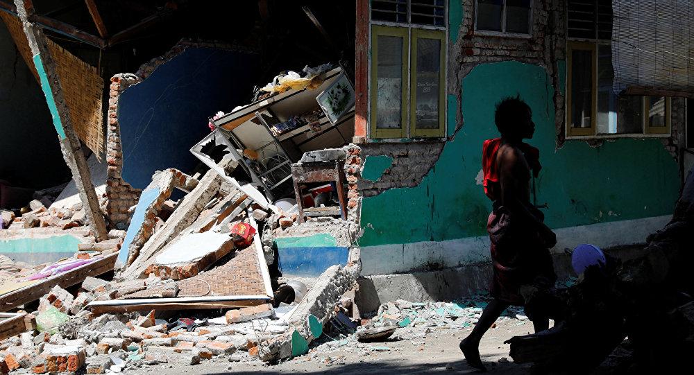 L'île indonésienne de Lombok touchée par un séisme
