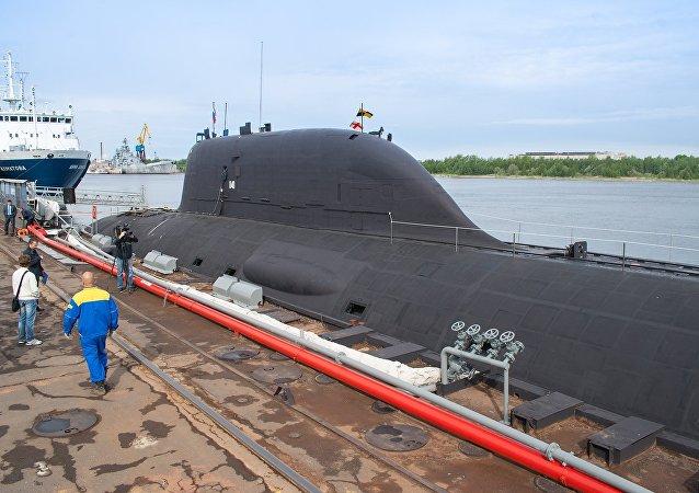 Un sous-marin nucléaire du projet Iassen