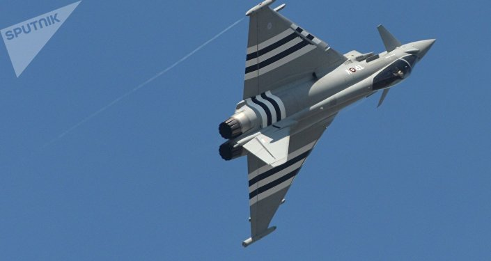 Un Eurofighter Typhoon